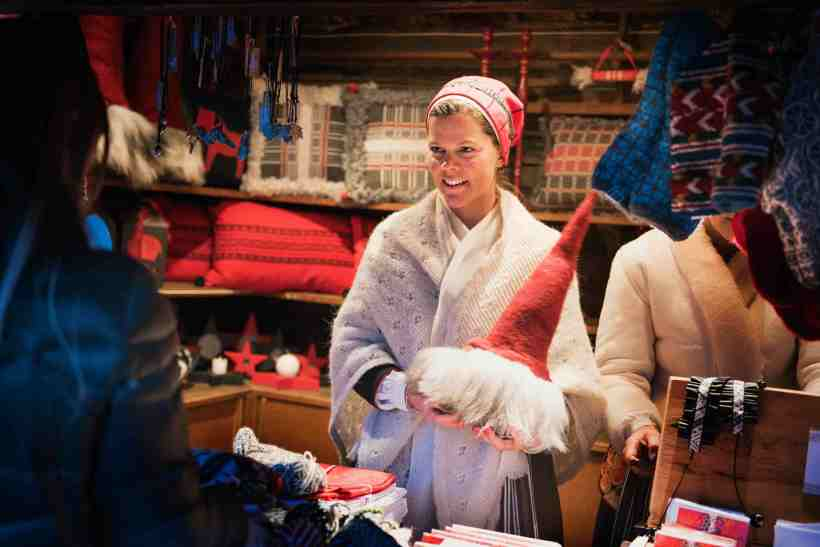 Weihnachtsmarkt SKANSEN